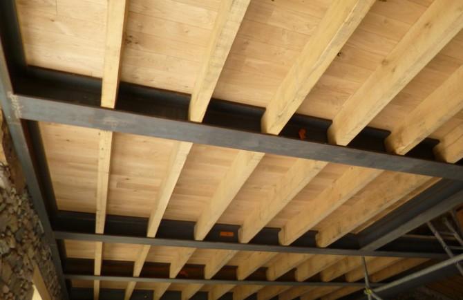 Jmoullec b timent neuf particuliers et collectivit s lamballe - Faire un plancher beton sur poutre bois ...