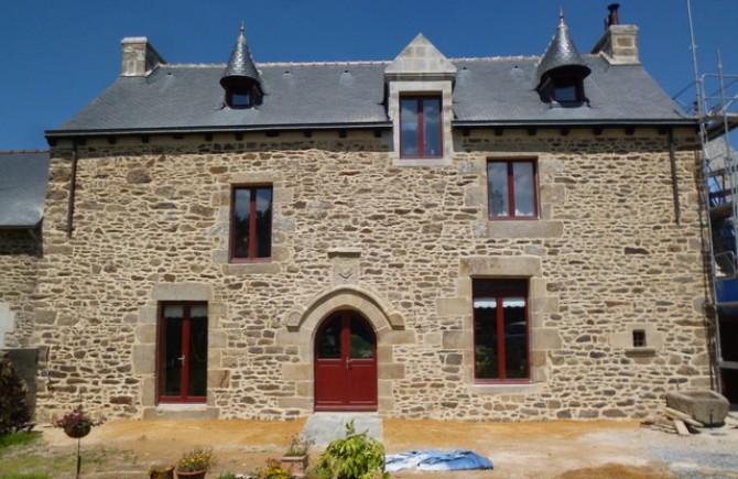 Restauration d'une façade