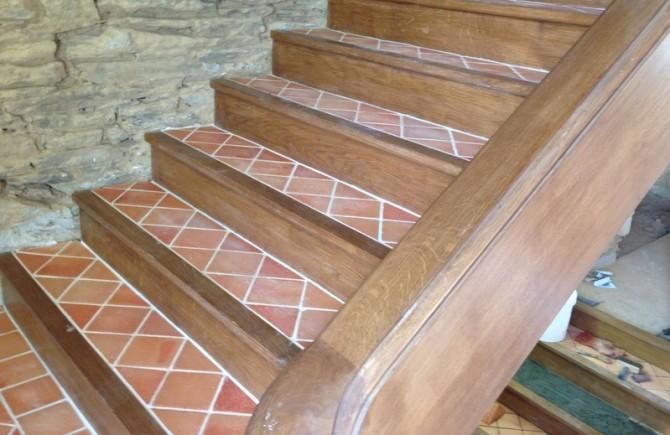 Château de Callac Escalier